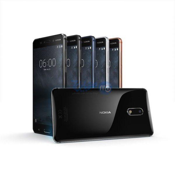 NOKIA 6 04 600x600 - گوشی موبایل نوکیا ۶ ظرفیت ۳۲ گیگابایت