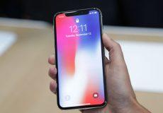 گوشی Iphone X.