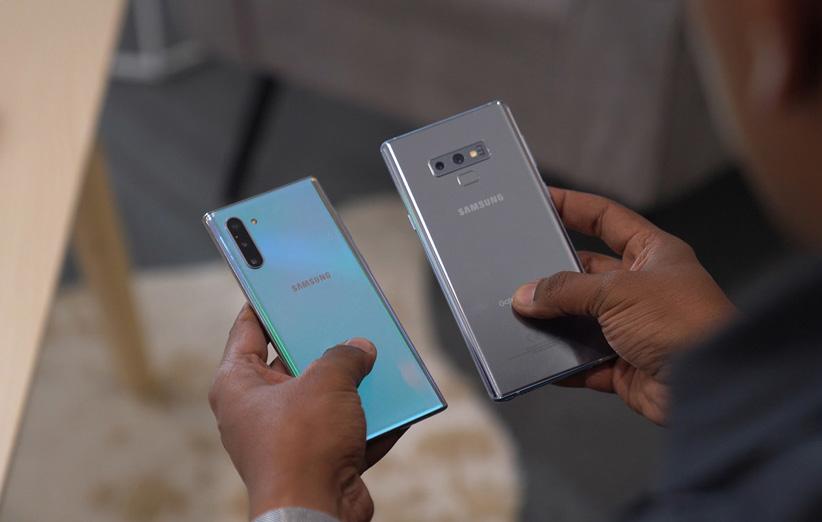 موبایل Galaxy note 10 plus1 - بررسی گوشی موبایل Galaxy note 10 plus